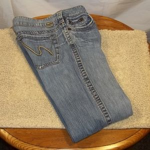 Silver Jeans Frances Womens Faded Bootcut Size 32